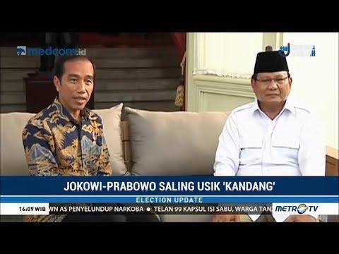 Jokowi dan Prabowo Saling Usik 'Kandang'