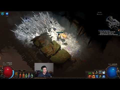 Path of Exile - GC Miner Early Maps (HC Abyss) - Day 10