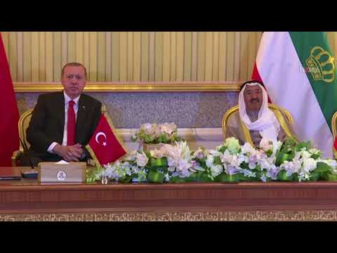 President Erdoğan is in Kuwait
