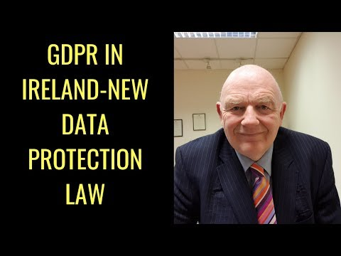 GDPR in Ireland-New Data Protection Law from May, 2018