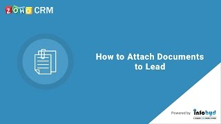How to attach documents to Lead in  Zoho CRM