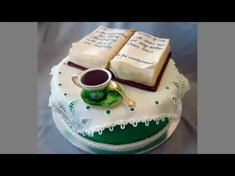 Birthday cake book shape, Full ᴴᴰ ·▭· · ··· - YouTube