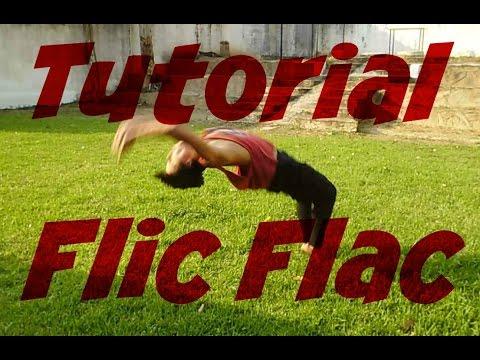 Como hacer flic flac o back handspring