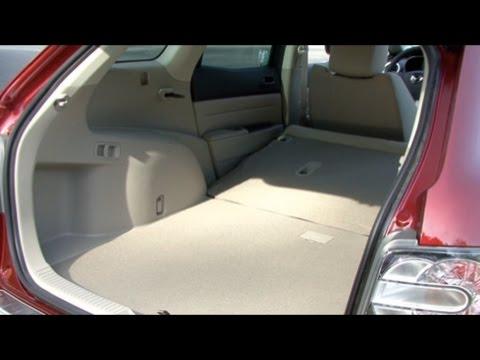 2010 Mazda CX7 - Cargo Capabilities