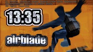 AirBlade [PS2] - Speed Run in 13:35 (in-game time)