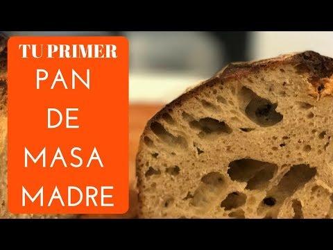 Pan de MASA MADRE casero - PRINCIPIANTES