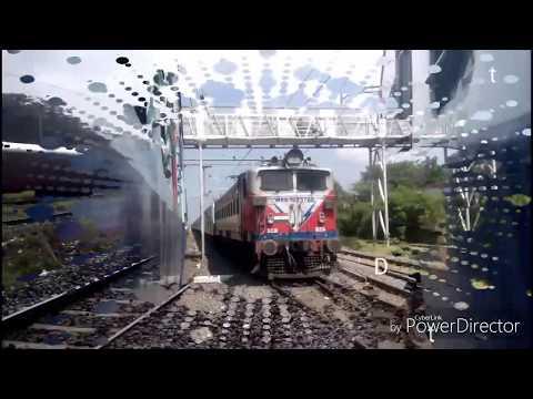 Onboard journey of Train (12680)Coimbatore Chennai intercity