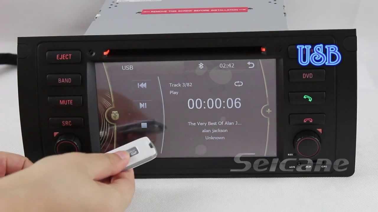Bmw X5 E53 Sat Navi Dvd Player Radio Bluetooth Bmw X5 3 0