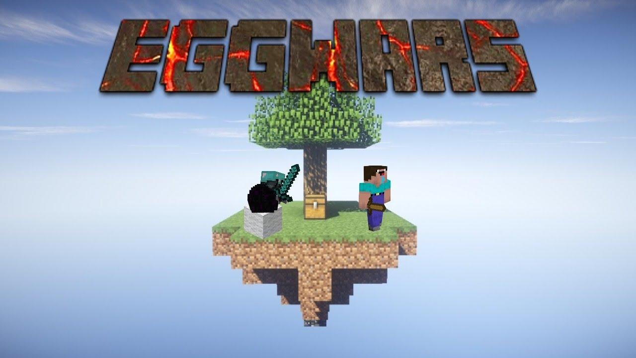 Minecraft eggwars- Winning all the games!