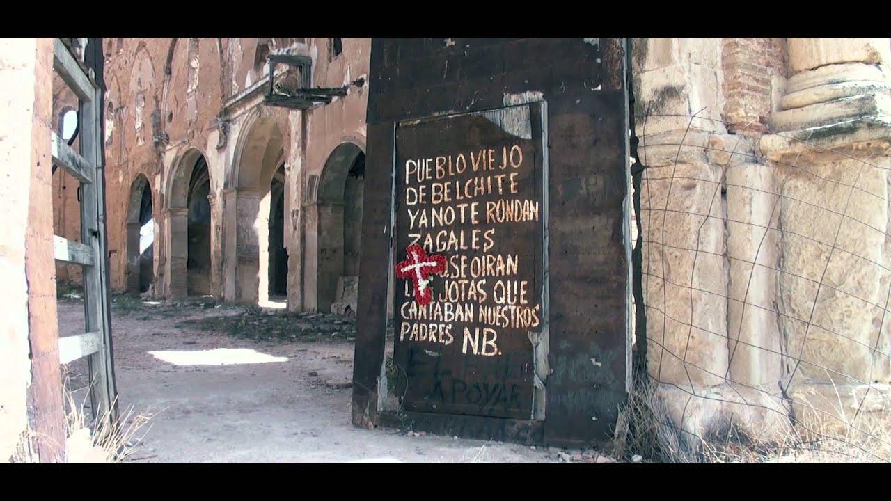 Pueblo abandonado Belchite, Zaragoza 2012 2017 - YouTube