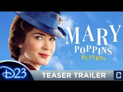 MARY POPPINS RETURNS 2018 Trailer WITH MUSIC, Emily Blunt, Disney ✪ Unofficial ✪ Gareth J. Rubery