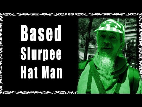 Based Slurpee Hat Man Discusses the Anti-American Left