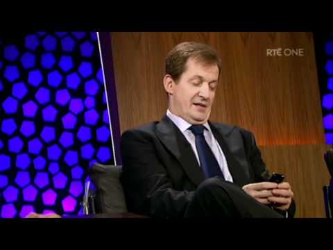 The Late Late Show: Donncha's text to Alastair
