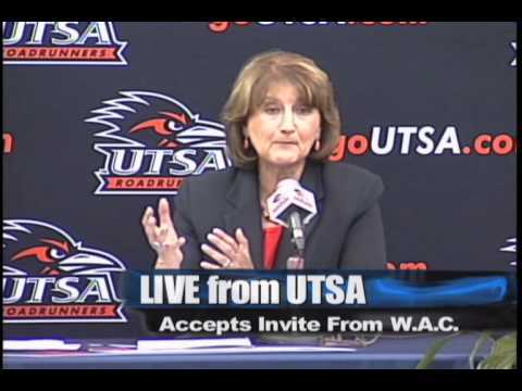 UTSA Joins Western Athletic Conference (WAC)