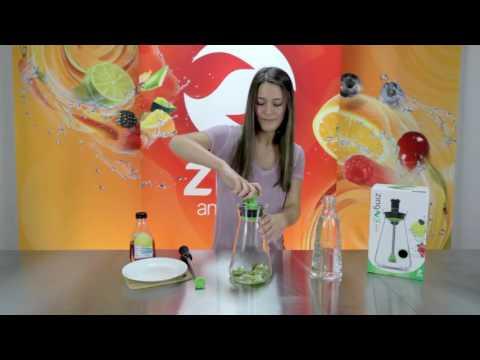 Zing 54 Recipes - Kiwi Lime Water