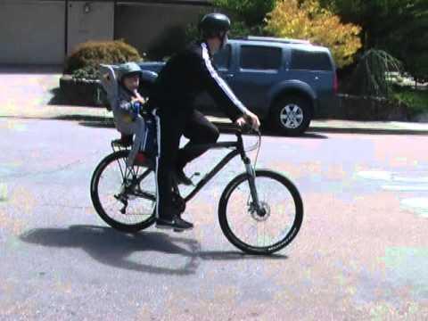 Topeak II babyseat bicycle child seat YouTube