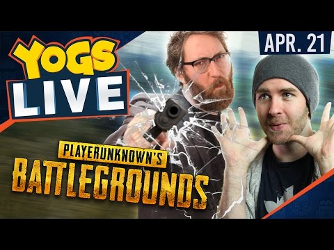 PUBG - What Happens When the Server Goes Down? w/ Lewis, Sjin, Tom & Harry - 21st April 2017