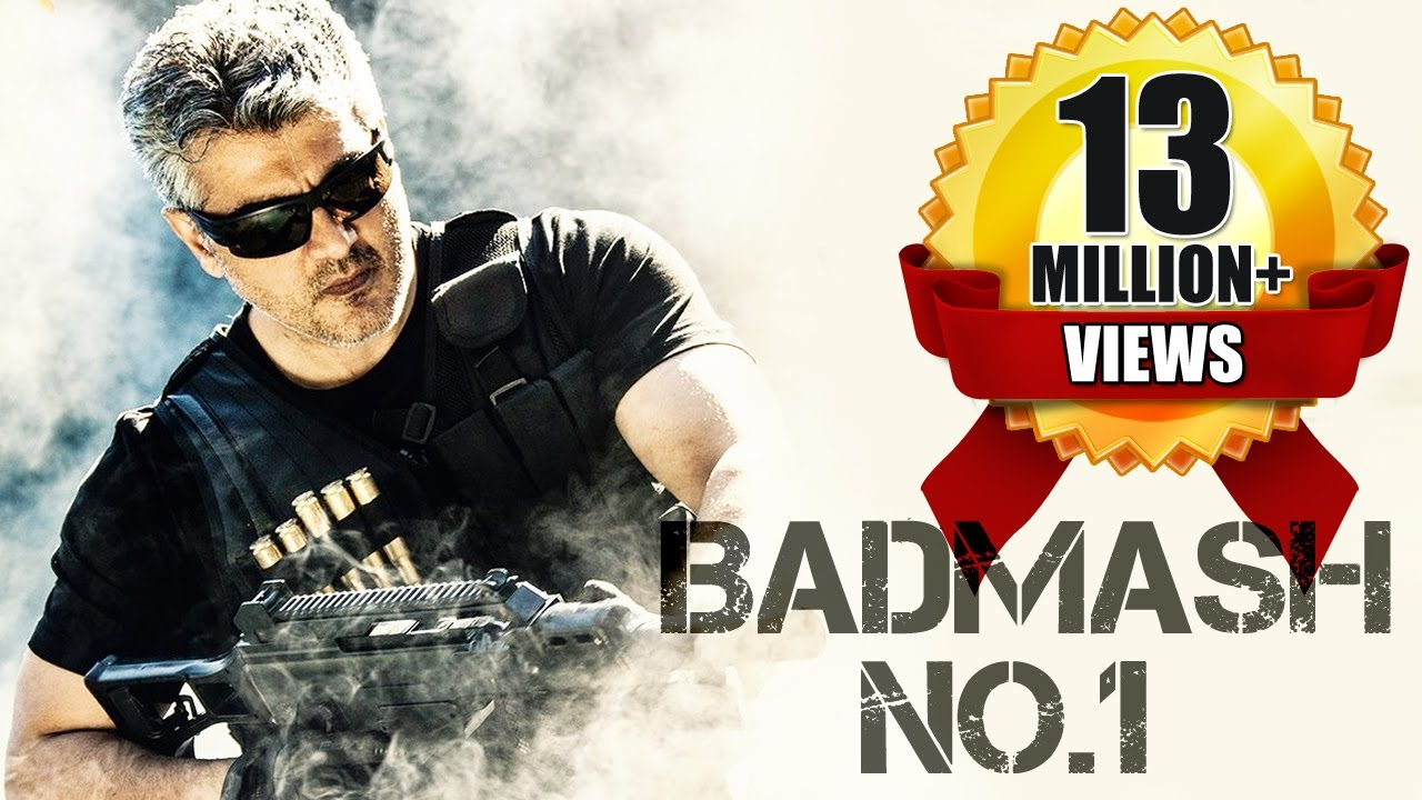 Download Badmaash No.1 (2017) Latest South Indian Full Hindi Dubbed Movie | Ajith Kumar | Navdeep | Nayantara