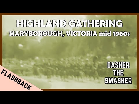 HIGHLAND GATHERING MARYBOROUGH, VICTORIA Mid 1960s