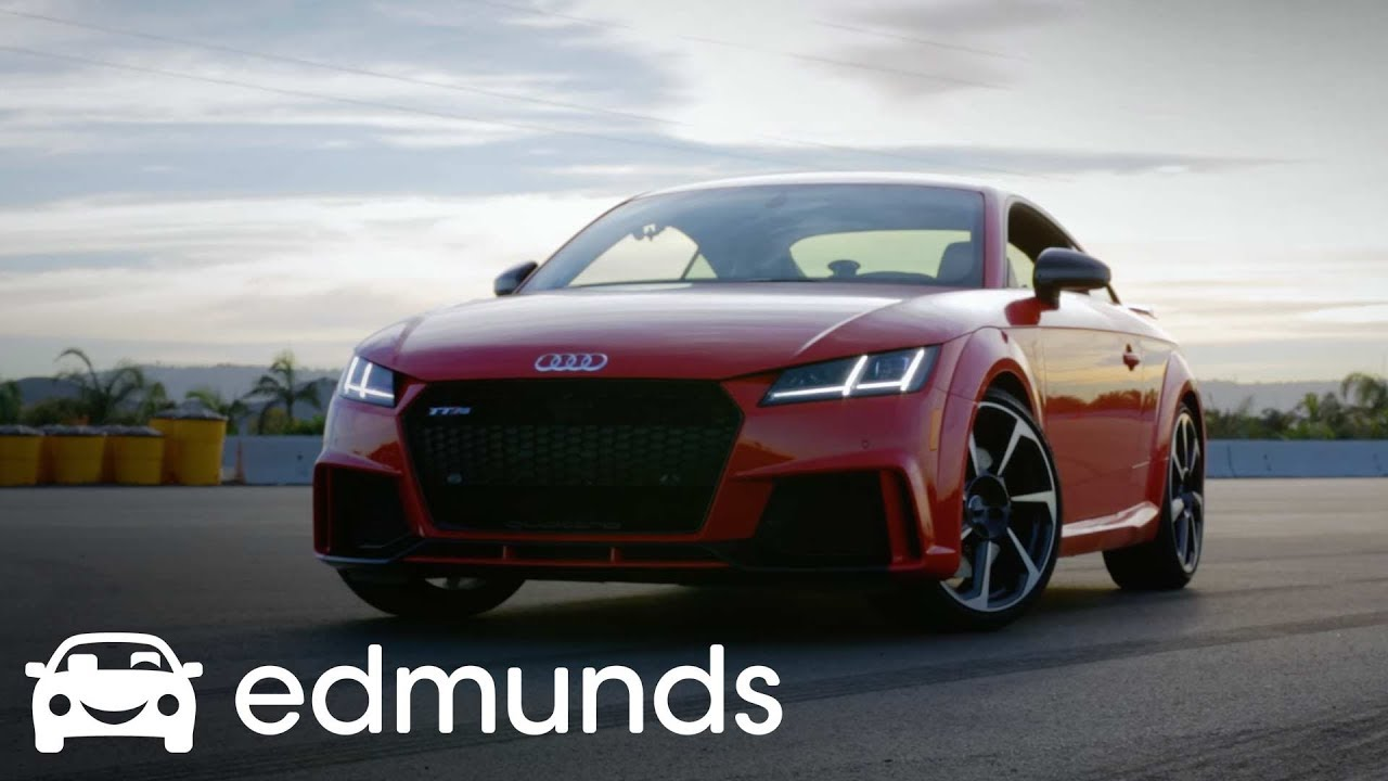 2018 audi tt rs review track test edmunds youtube. Black Bedroom Furniture Sets. Home Design Ideas