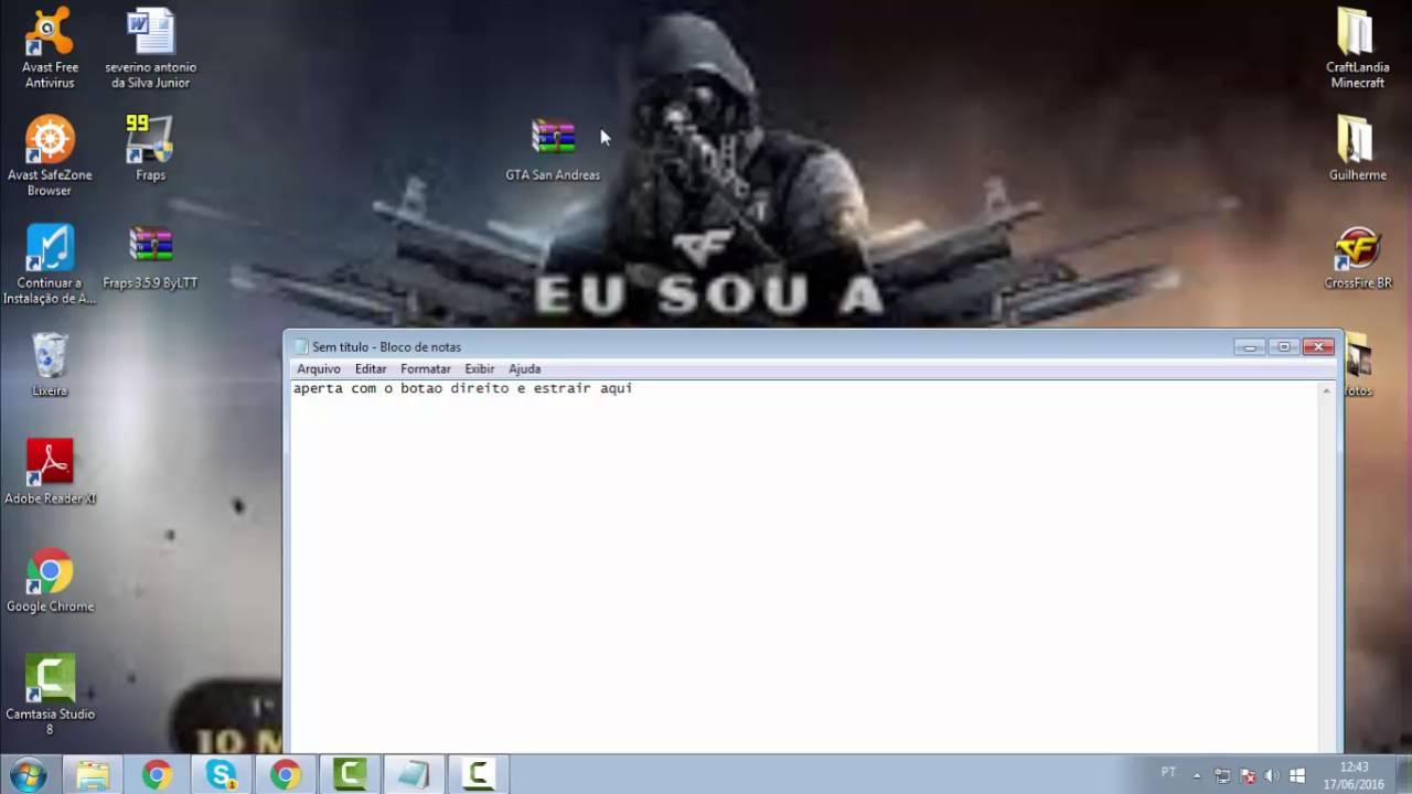 como baixar gta san andreas download pc completo gratis portugues