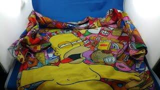 ✅ 4$ Simpsons T shirt 3d from AliExpress.com Unboxing haul euro app