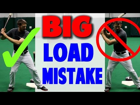 Common Load Mistake | Baseball Hitting...