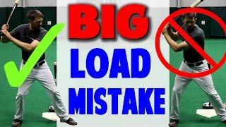 Common Load Mistake | Baseball Hitting Mechanics (Pro Speed Baseball)