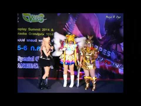 Comic Party 79th World Cosplay Summit 2014 - Team 5 Sailor Moon