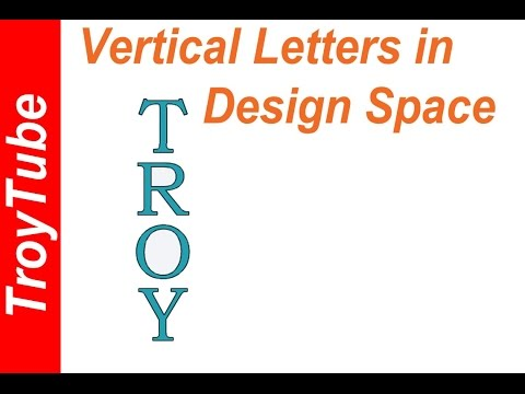 Vertical Text in Design Space