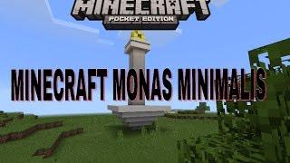 Minecraft pe-Monas Minimalis|Time Lapse