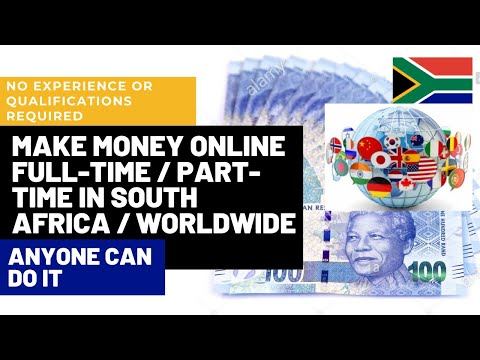 make money online in South Africa 2021| site where you can make money