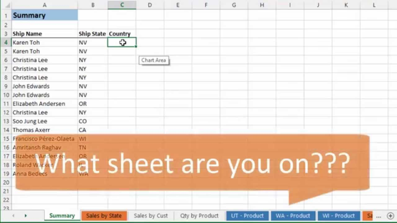 Quickly Find Worksheets and Unhide Multiple Sheets using Tab Hound ...