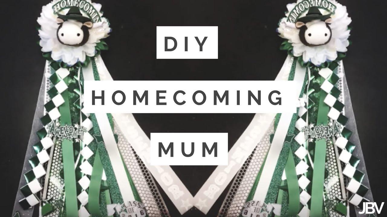 Diy Homecoming Mum Youtube