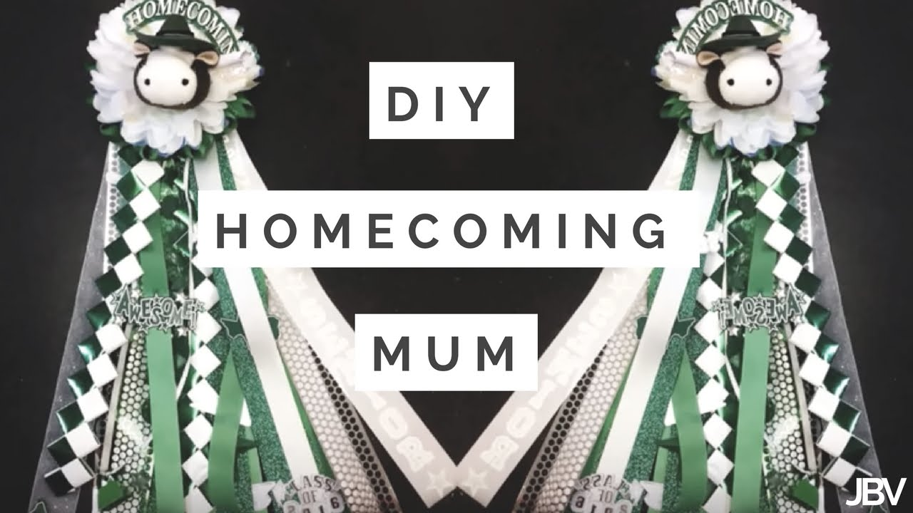 Diy Homecoming Mum