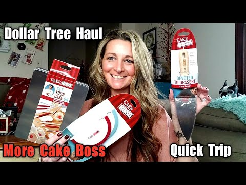 Dollar Tree Haul + Quick Trip To DT/ MORE CAKE BOSS!😮I Open Everything