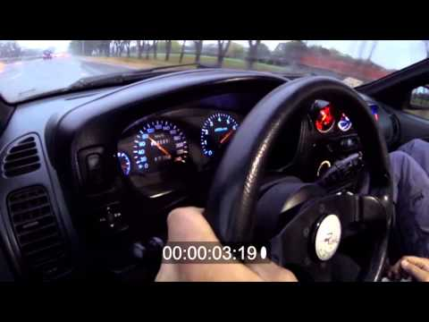 Разгон: Mitsubishi Colt AWD (4G63T, 400+) - 0-180 km/h