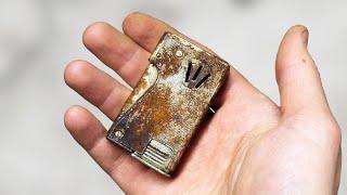 Rare Vintage Lighter Restoration - Clinton Squeeze Lighter