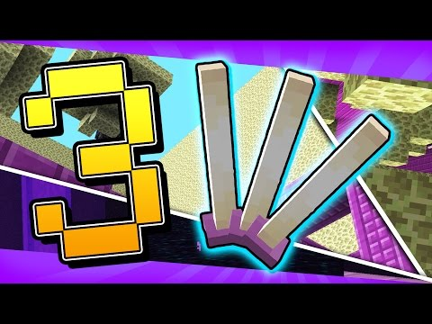 3 Games Made with the New Minecraft 1.9 Snapshot | Levitate, Ender Rod Parkour, and More!