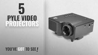 Top 10 Pyle Video Projectors [2018]: Updated Pyle Gaming Projector, Video Projector, Widescreen, USB