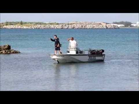 Police Search Waters By Causeway July 19 2012