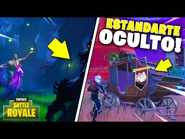 ESTRELLA OCULTA SEMANA 2! *ESTANDARTE OCULTO* FORTNITE Battle Royale TEMPORADA 6!