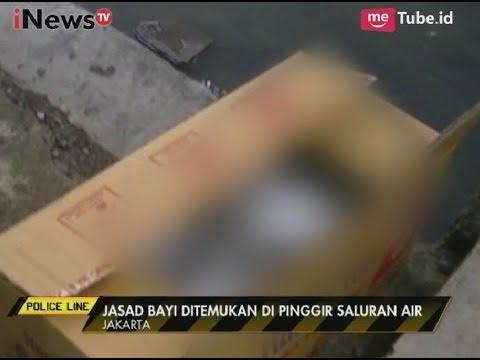 Geger! Sesosok Jasad Bayi Ditemukan di Pinggir Saluran Air Jakarta - Police Line 03/10