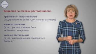 Химия 8 Растворы  Растворимость веществ