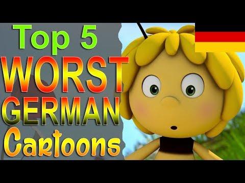 Top 5 Worst German Cartoons