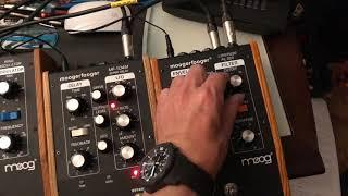 Tr 808 Roland drum low pass filter Moog moogerfooger