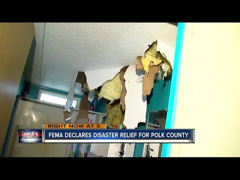 FEMA declares disaster relief for Polk County
