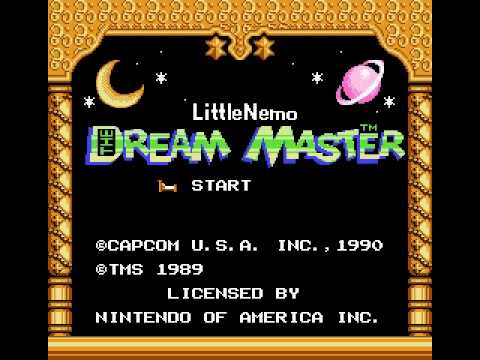 Misc Computer Games - Little Nemo The Dream Master - Mushroom Forest
