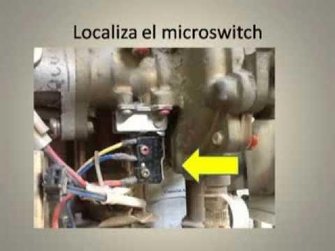 Boiler de paso Cambio de sensor de flujo de alta presin