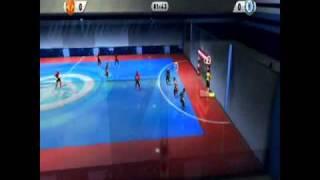 FIFA 11 Wii - ManU vs. Chelsea...Indoor Futsal!!!